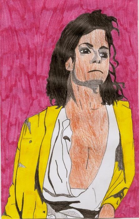 Michael Jackson by LizzyJackson